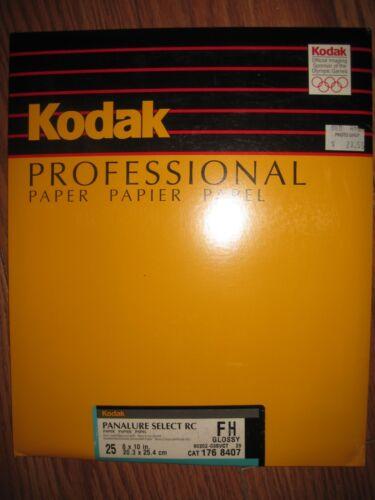 Kodak Professional FH Photo Paper 25 Sheets Photography Developing 8x10