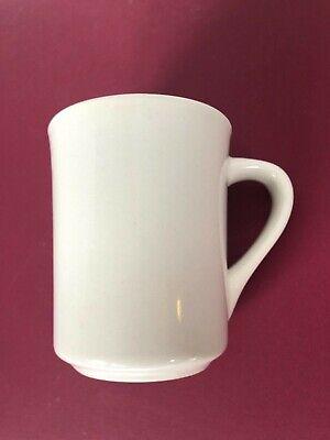 Restaurant Diner Mug -WORLD ULTIMA CHINA Ceramic TM-8-W -weight 12 1/2 oz