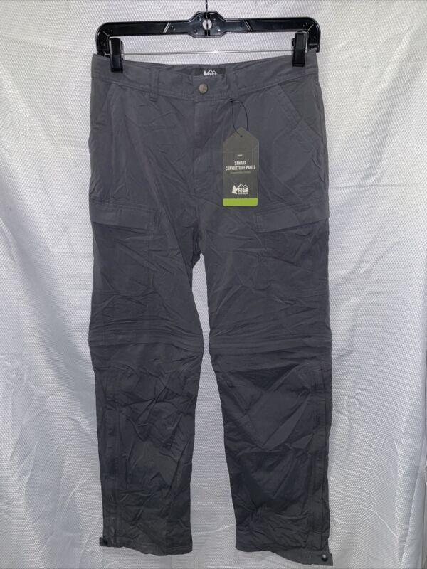 REI Sahara Convertible Pants - Asphalt - Boys Large (14-16)