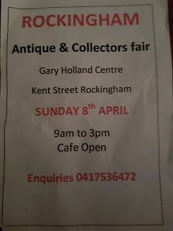 ROCKINGHAM Antiques & Collectors fair