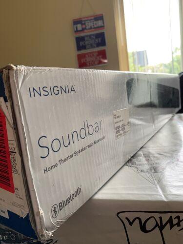 Insignia Soundbar Home Theater Speaker w/ Bluetooth  Black