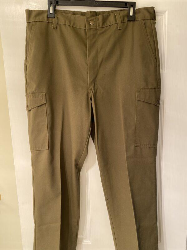 Boy Scouts of America Pants Size 36 Waist 30.5  Inseam 1 Inch Hem
