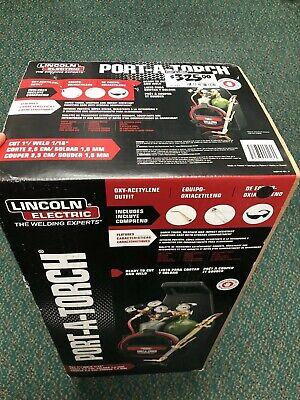 Port A Torch Kit Acetylene Power Tool Portable Lightweight Handle Welding New Fs