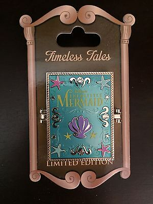 Disney Parks Timeless Tales Pin Ariel The Little Mermaid Limited Edition