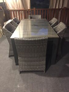 Outdoor dining table Mount Lewis Bankstown Area Preview