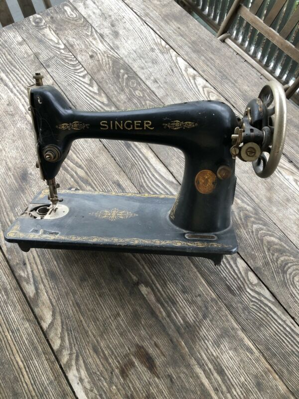 Singer Antique Vintage Sewing Machine Model A A 385716