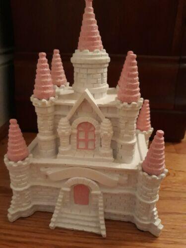 Ceramic Princess Castle Coin Bank