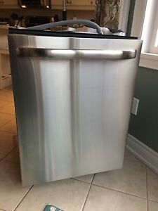 Lg dishwasher stainless steel. As is