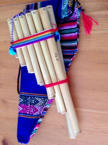 Profesional Pan Flute case included 13 Pipes