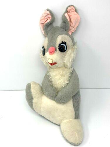 "Walt Disney Thumper California Stuffed Toys Vintage 12"" Plush 1960"