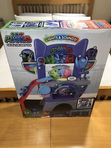 PJ MASKS Save The Day HQ Kids Play Set Toy NEW
