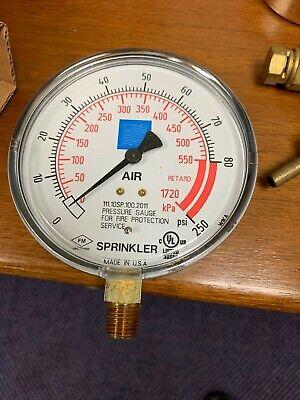 Air Sprinkler Pressure Gauge