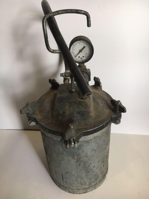 Vintage Pressure Pot Tank