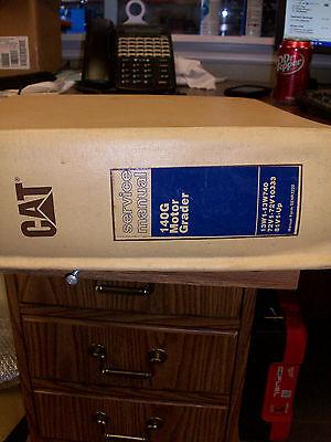 Caterpillar 140g Motor Grader Service Manual