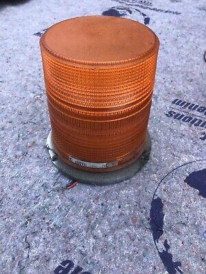 Amber Strobe Light. Star Warning Systems 255tc 12-48 Volt. Fast Shipping