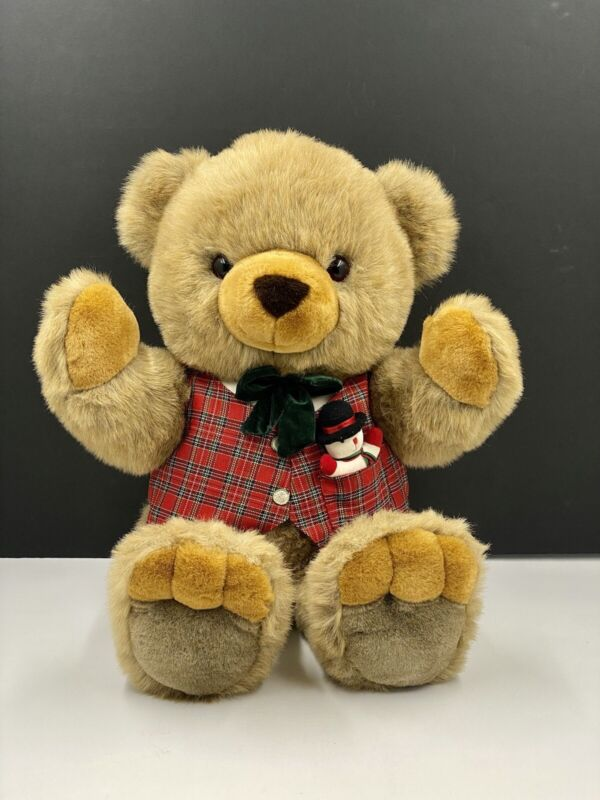 JCPenney Holiday Collection Teddy Bear Large Plush 26″ Brown Christmas