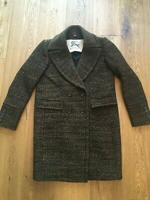Designer Burberry winter coat size 10 – classic timeless style