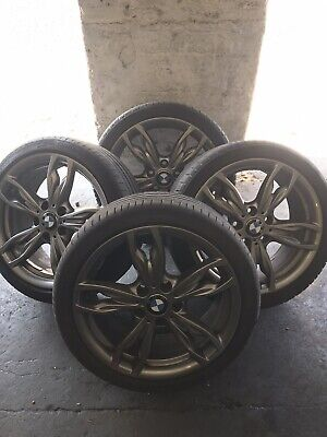 GENUINE BMW 1 SERIES 18'' M140i M135i M SPORT  ALLOY WHEELS + TYRES E87 F20 F21