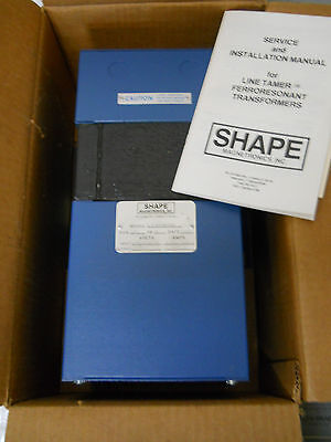 Shape Magnetronics Clt-0750-cbb Line Tamer Ferroresonant Transformer New In Box