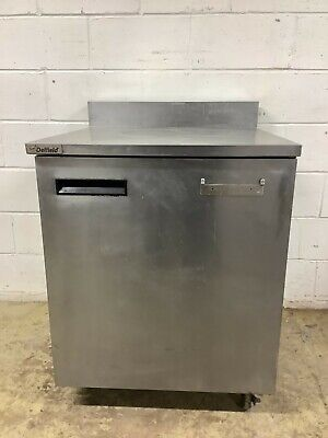 Freezer Under Counter Delfield 403-ws1 On Casters Tested