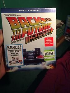 Back to the future collection unopened/brand new BluRay
