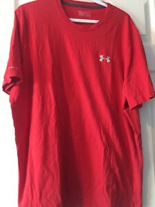 Men's Underarmour shirts Red short sleeve; grey long sleeve $10