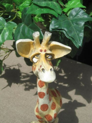 John Raya Beasties of the Kingdom Geraldine Giraffe Figurine 1991