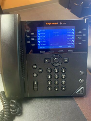 RingCentral Polycom VVX 450 Business IP Phone