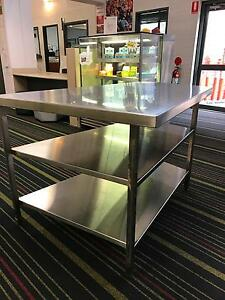 Stainless Steel bench Richmond Hawkesbury Area Preview