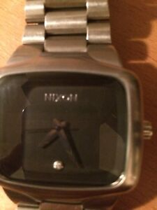 Stainless steel Nixon watch The big player