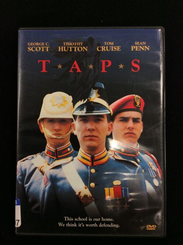 T*A*P*S TAPS DVD George C Scott Timothy Hutton Tom Cruise Sean Penn Free Shippin