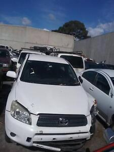 NOW WRECKING TOYOTA RAV4 WHITE,GREY COLOR ALL PARTS 2008 Dandenong South Greater Dandenong Preview