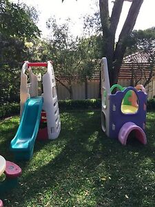Lerado/ step 2 kids play equipment with slide Forresters Beach Gosford Area Preview