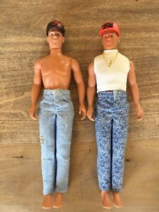 New Kids on the Block Big Step Dolls 1990 by Hasbro