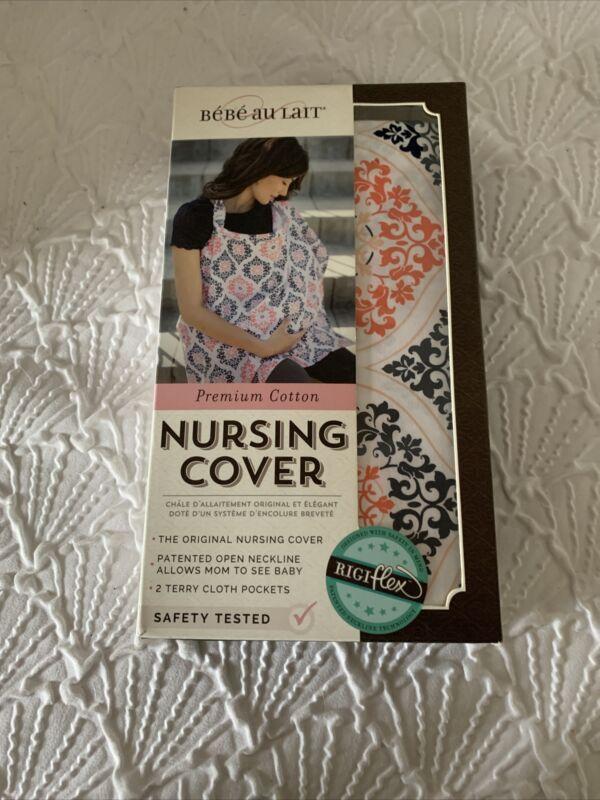 BeBe Au Lait New Original Packaging Nursing Cover Premium Cotton