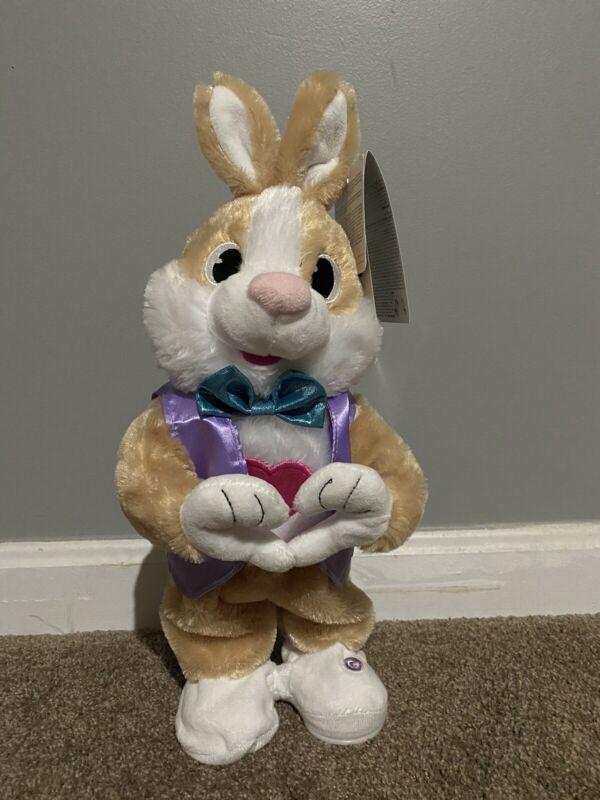 Gemmy Easter Heart Making Bunny