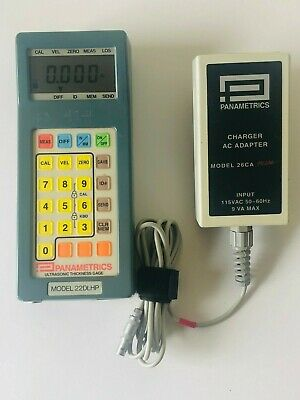 Panametrics 22dl-hp Ultrasonic Thickness Gage