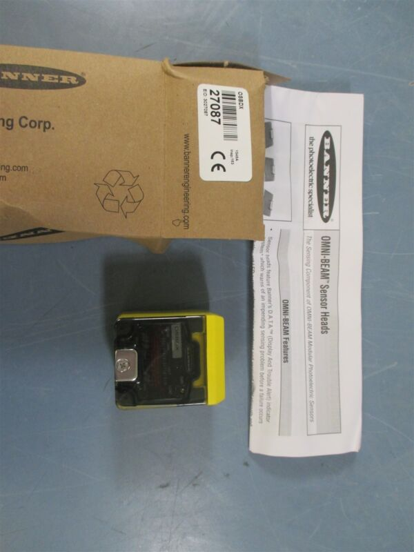 Banner OSBDX Photoelectric Sensor - New