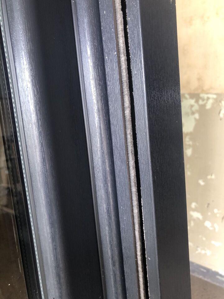Balkontür mit Rollo Antgrazitgrau Anthrazit mit Gurt 2 Fach Glas in Brandenburg an der Havel
