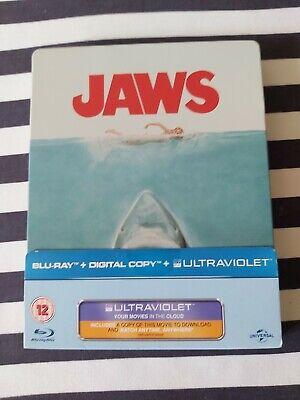 Jaws 1975 Blu Ray Steelbook Steven Spielberg Roy Scheider Richard Dreyfuss