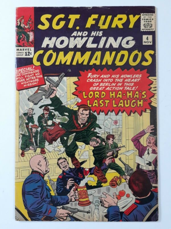 Sgt.Fury and his Howling Commandos #4