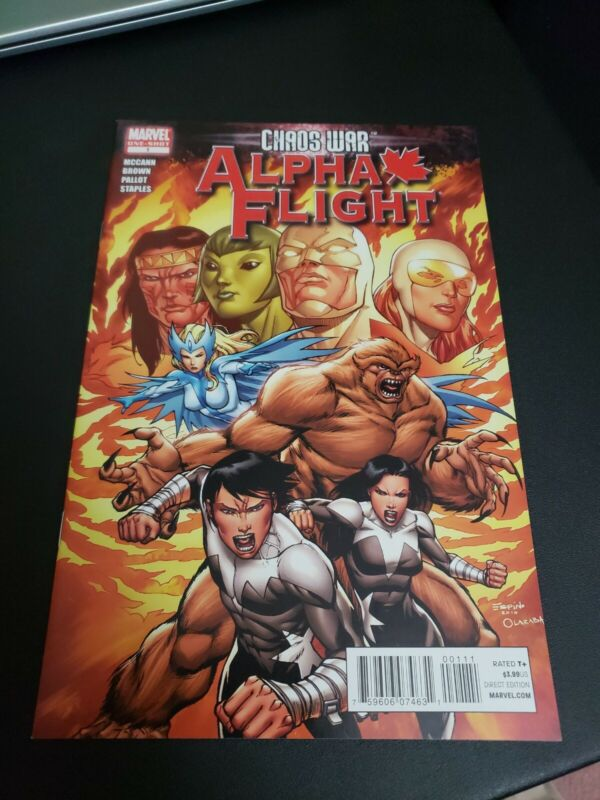 Chaos War: Alpha Flight #1 One-Shot (Marvel) NM