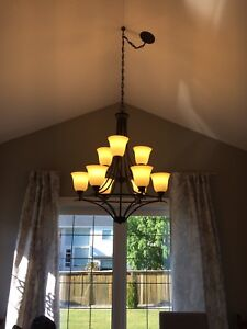 Lighting - Chandelier, pendants, wall sconces an