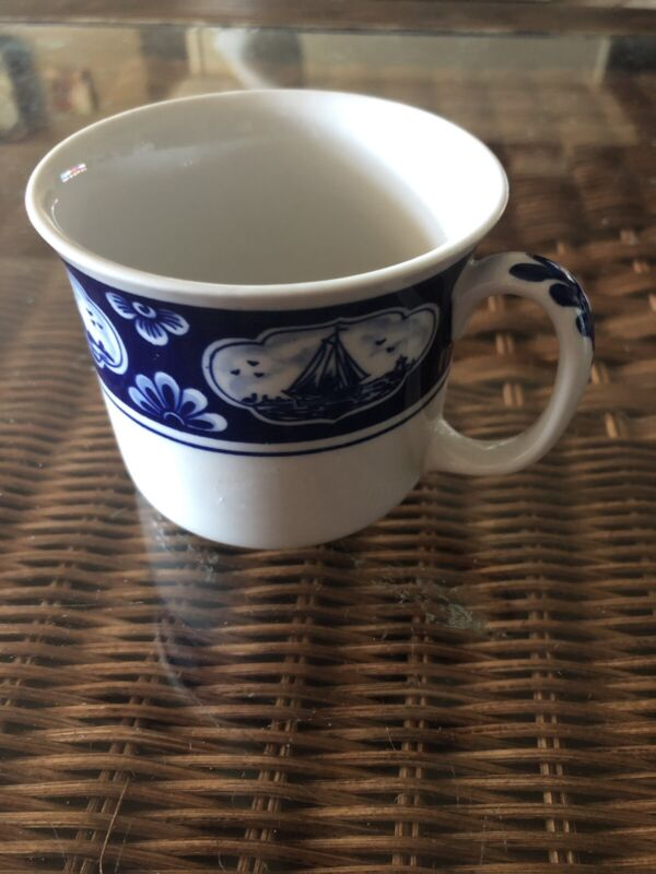 KLM Airlines Delft Blue Coffee Cup