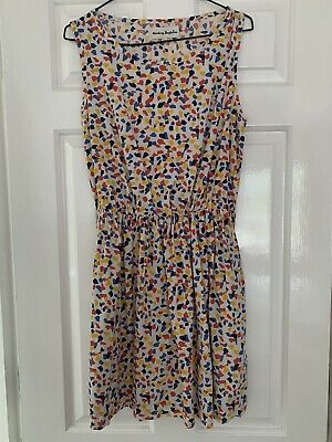 Aimee By People Tree Organic Cotton Sundress Sun Dress 10/ Small