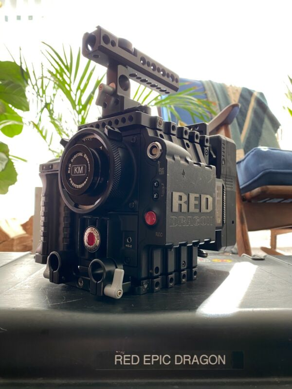 Red Epic Dragon 6k Package (Power/Media/Support/OLPFs/Mounts)