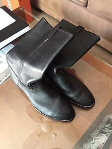Steel Toe Motorcycle Riding Boots