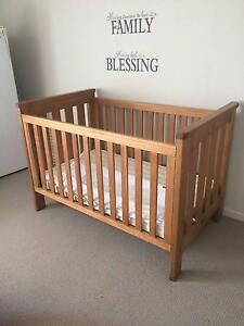 Boori Pioneer Cot in Excellent Condition Springfield Lakes Ipswich City Preview