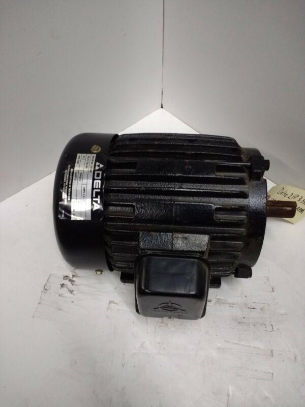 Delta 2HP 3PH 230/460V 3,450RPM Motor Frame 90L-1EC