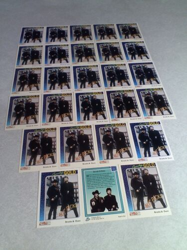 Brooks & Dunn:  Lot of 27 cards / Country Music